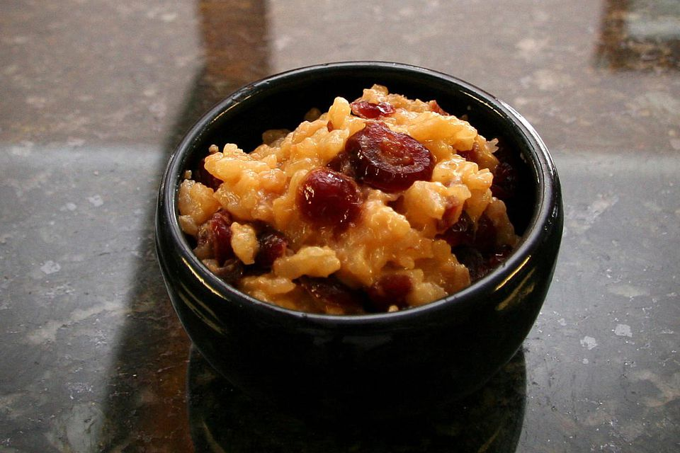 Slow Cooker Rice Pudding