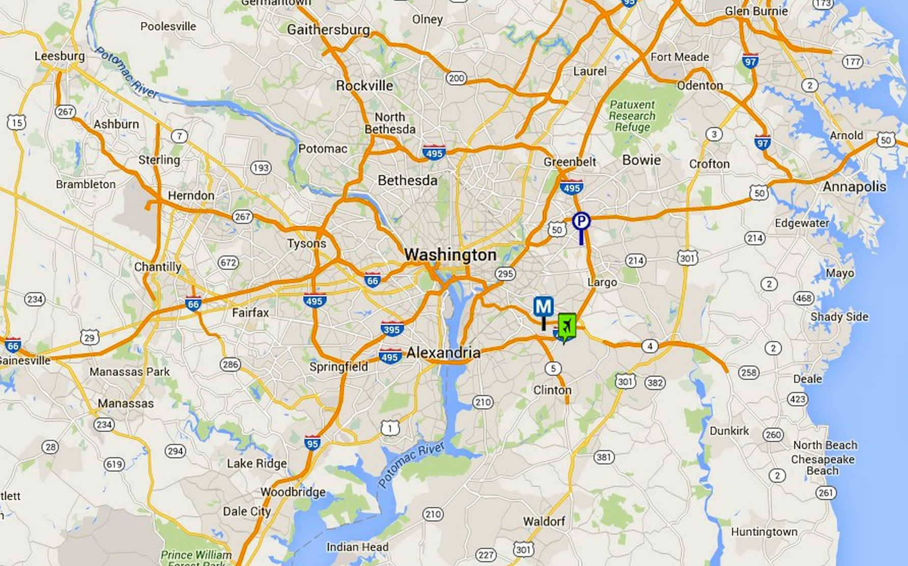 Where Is Washington DC Located Washington DC Location In US Map