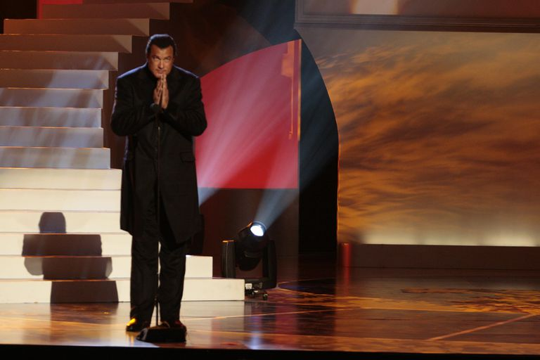 Steven Segal at Award Show 2008