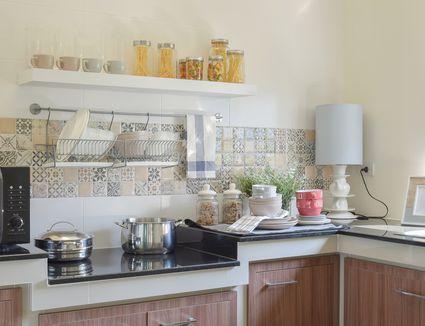 9 DIY Kitchen Backsplash Ideas Floor Tile