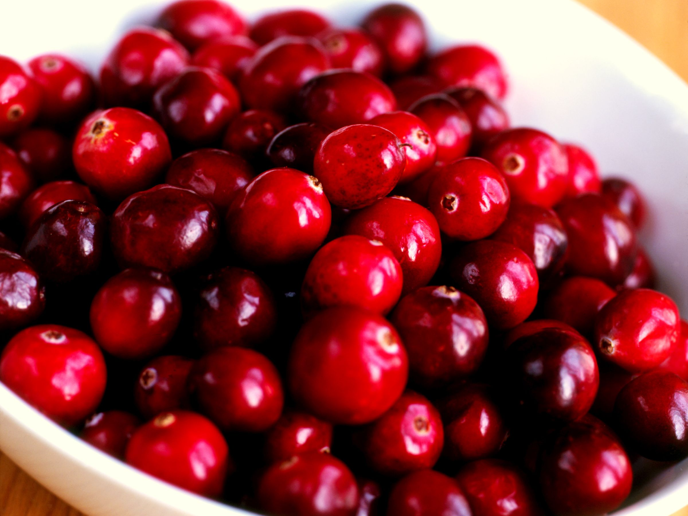 Cranberry selection and storage information