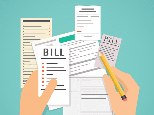 Paying bills