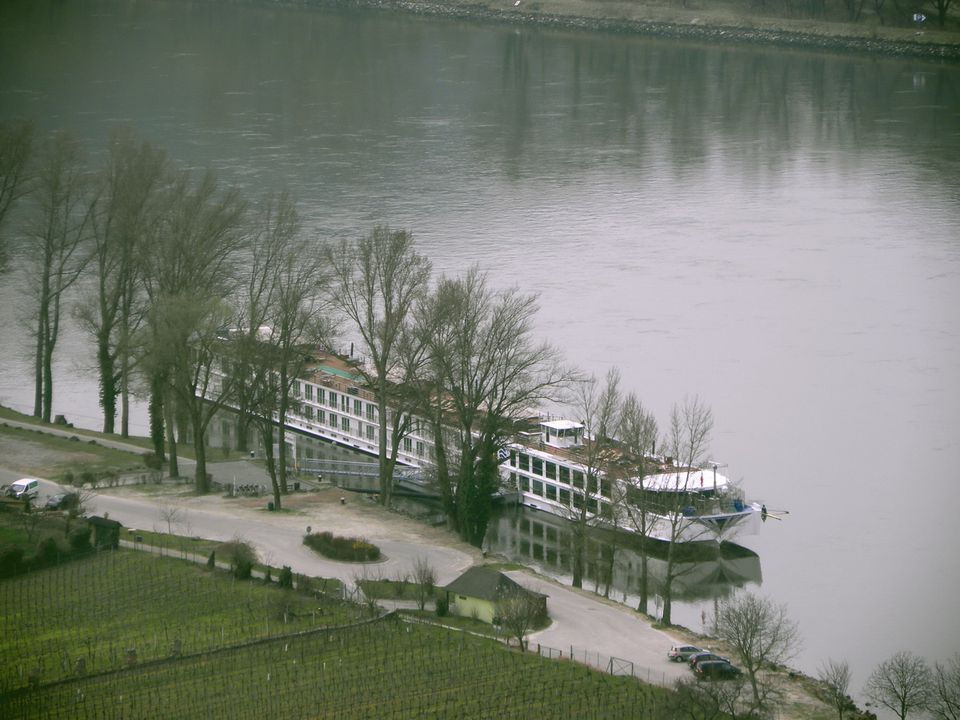 River Beatrice in Durnstein on the Danube River