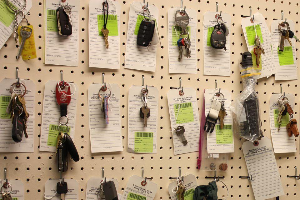 Lost Keys at PHX