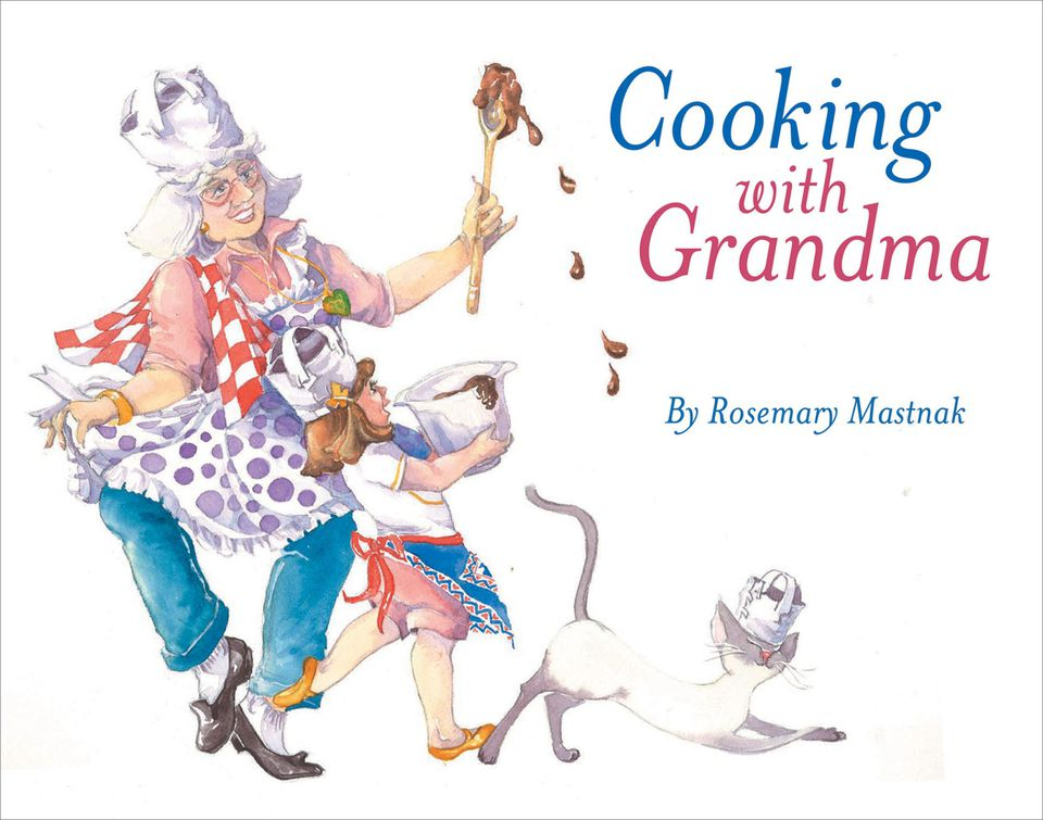 Cooking with Grandma book for grandparents and grandchildren