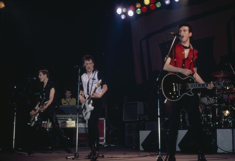 The Clash performs live circa 1980.