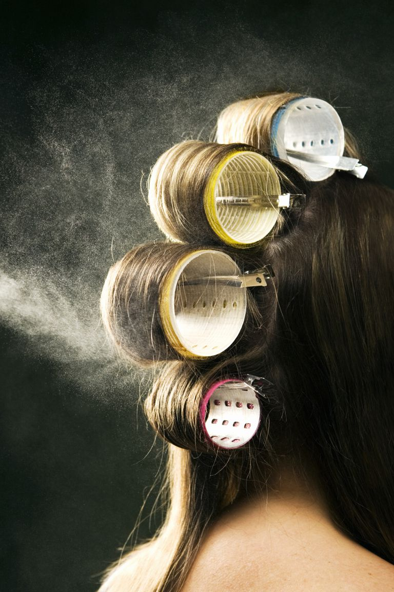 how to use hair rollers in hindi