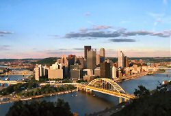 Pittsburgh Pictures - Pittsburgh Skyline