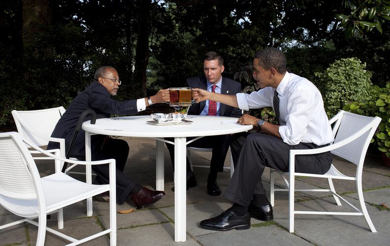 Beer in the White House
