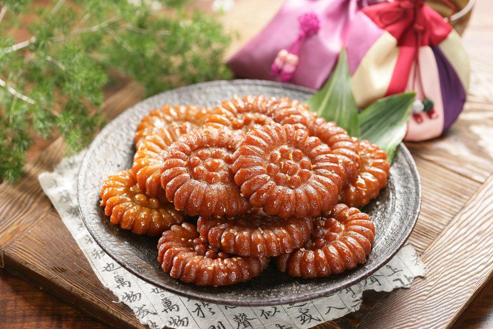 Korean dessert, Yakgwa