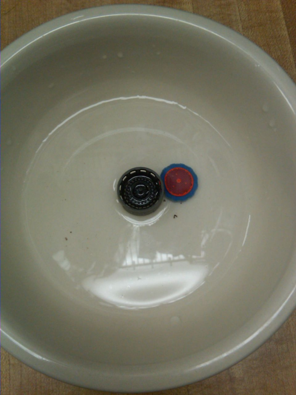 Cleaning A Blocked Faucet Aerator