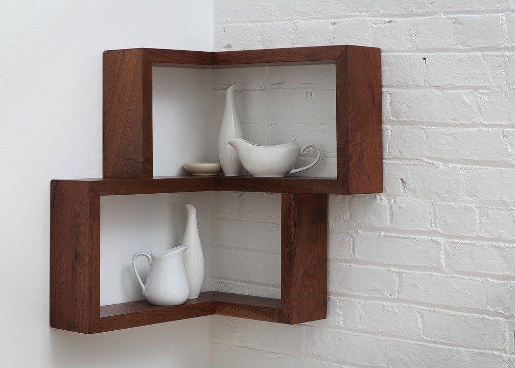 A Shelf That Transforms Useless Corners Into Useful Space