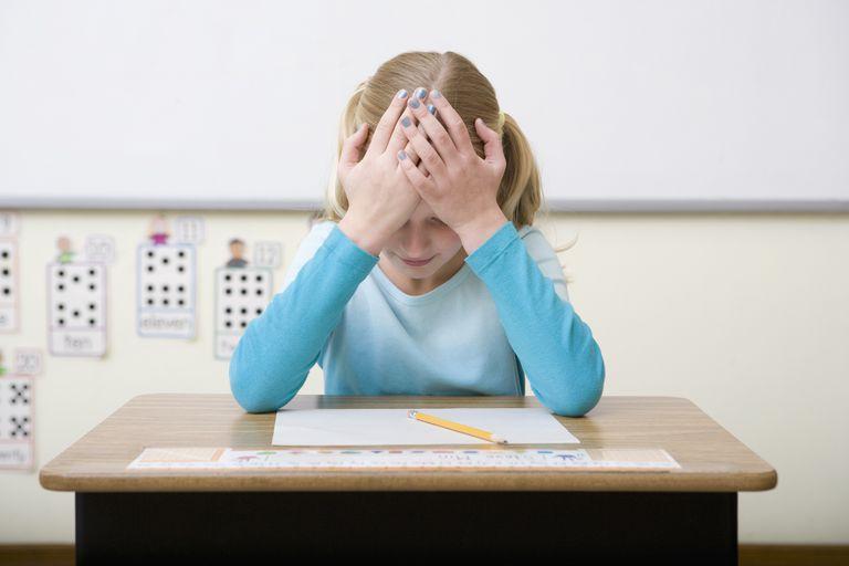 struggliling student