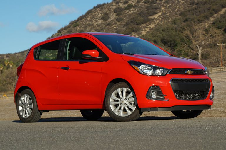2016 Chevrolet Spark front view