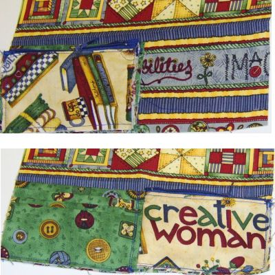 Attach the Coin Section & Center Stitching to sew a women's wallet
