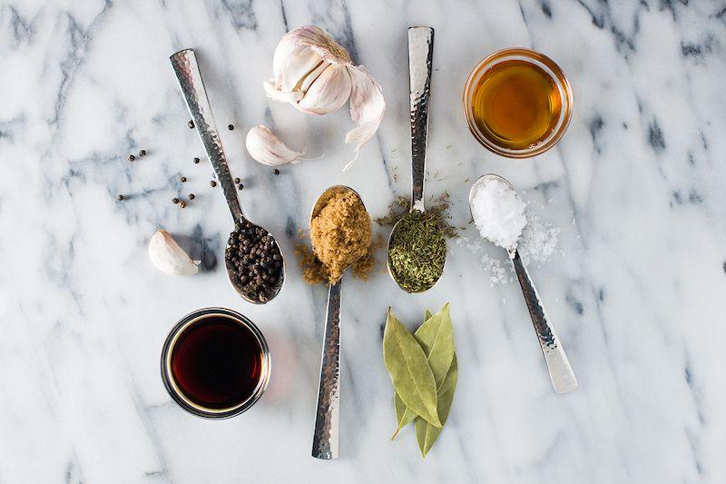 Maple and brown sugar brine