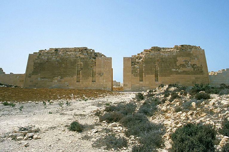 Taposiris Magna - Pylons of the Temple of Osiris