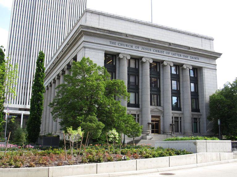 Church Administration Building, LDS Church, Salt Lake City, Utah