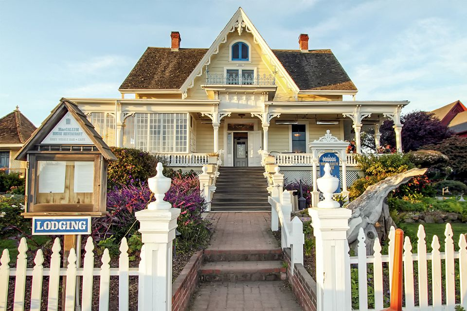 McCallum House in Mendocino