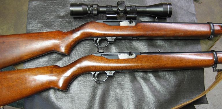 A couple of nice little poppers, ready once again for the woods or range.