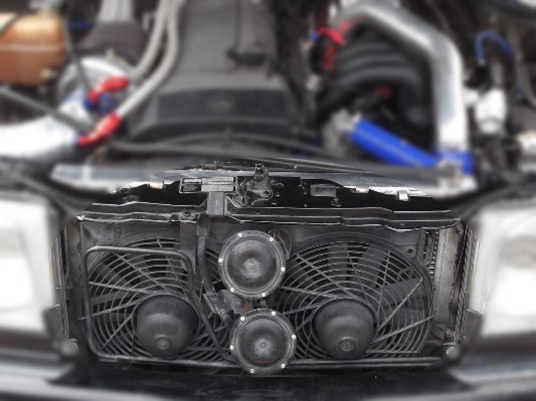 electric radiator fan and condenser fan