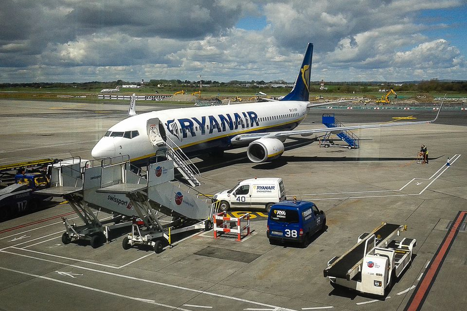 Ryanair at Dublin Aiport