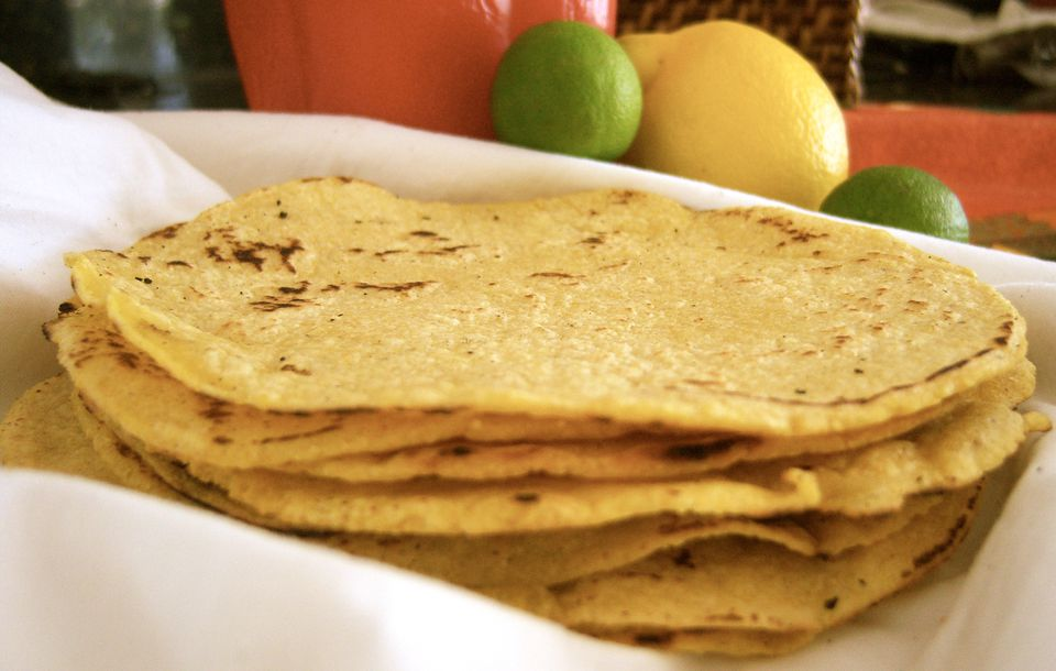 Homemade Gluten Free Tortilla Recipe Image Teri Gruss