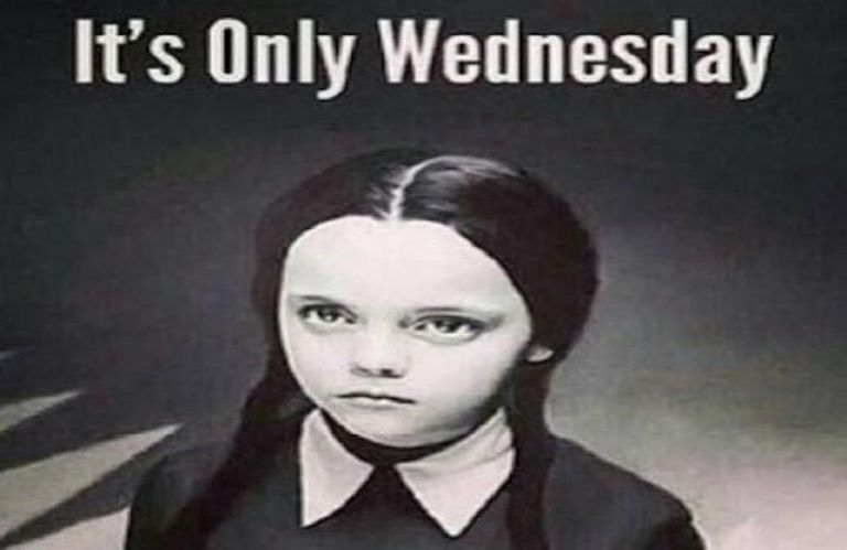 Wednesday Addams Meme Funny : The 14 perfect wednesday memes