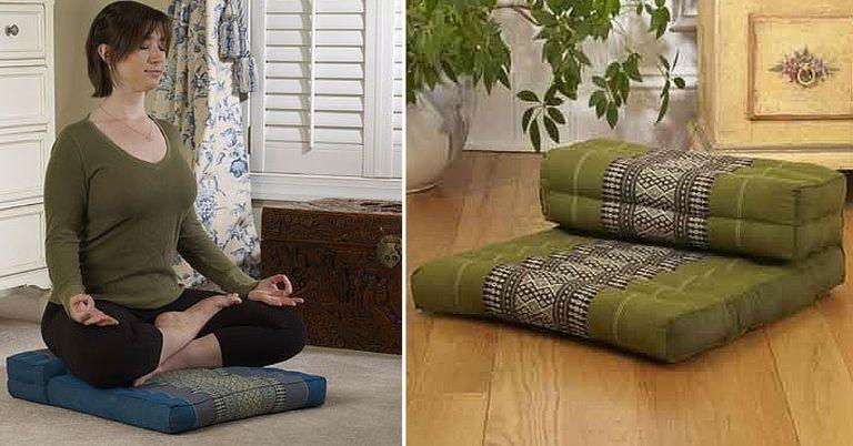 Two-Tiered Meditation Cushion