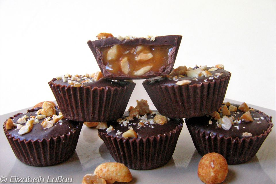 Peanut Caramel Chocolate Cups