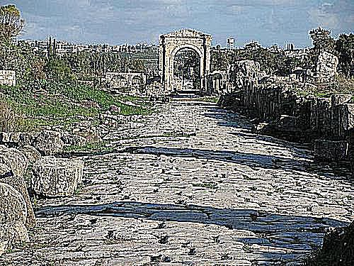 Roman Road in Tyre