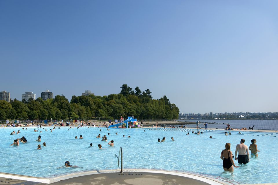 Second Beach Pool at Stanley Park in Vancouver, BC