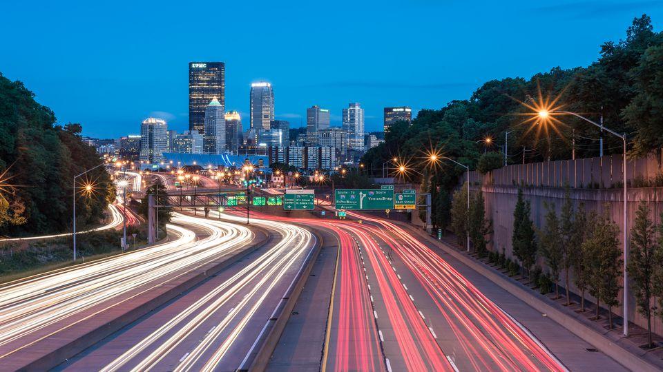 Pittsburgh Night Trails