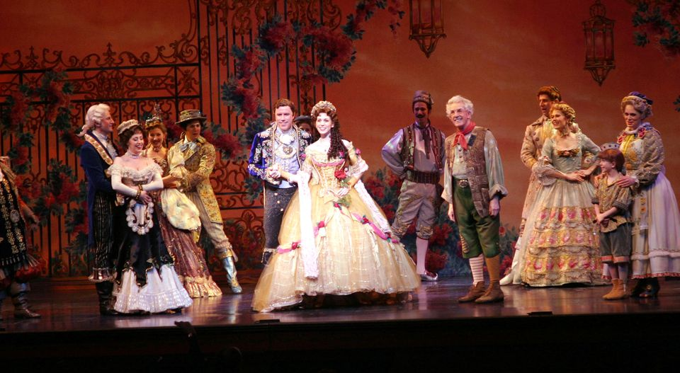 Opening Night of Christy Carlson Romano in 'Beauty and The Beast' on Broadway