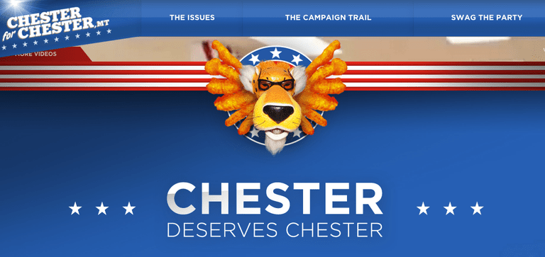 Chester for Chester campaign for Cheetos