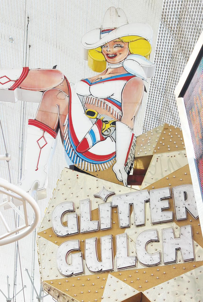 Glitter Gulch Fremont Street Experience, Old Vegas