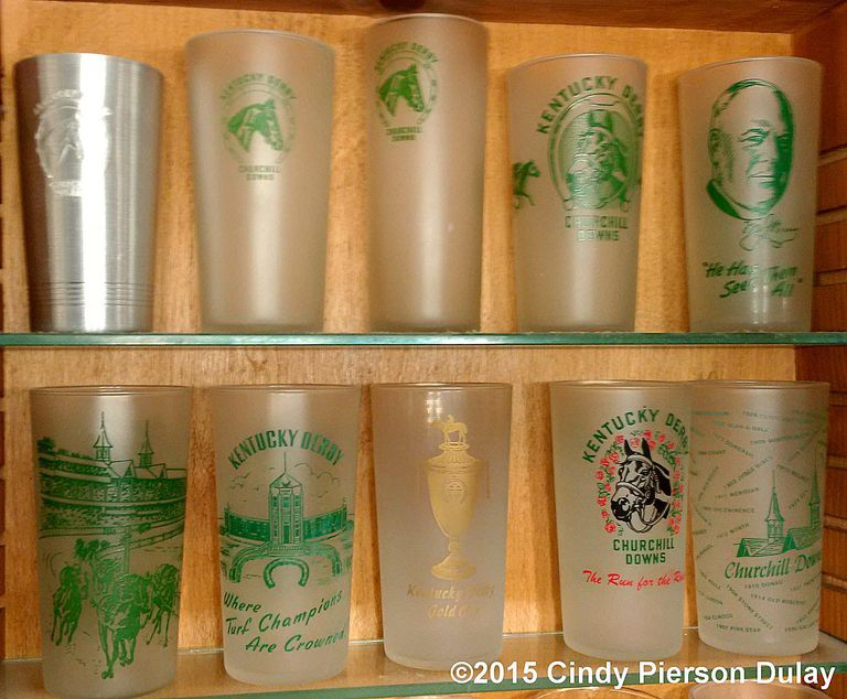 horse racing derby glasses