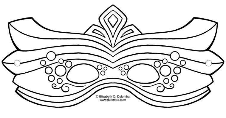 19 free mardi gras mask templates for kids and adults an elaborate mardi gras mask template pronofoot35fo Images