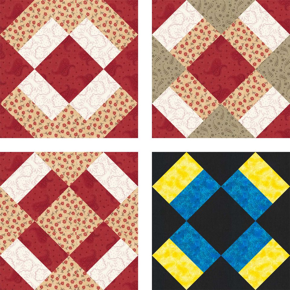 Design a Quilt With These Free Quilt Block Patterns : traditional quilt blocks - Adamdwight.com