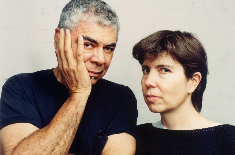 Architects and designers Ricardo Scofidio and Elizabeth Diller in 2003
