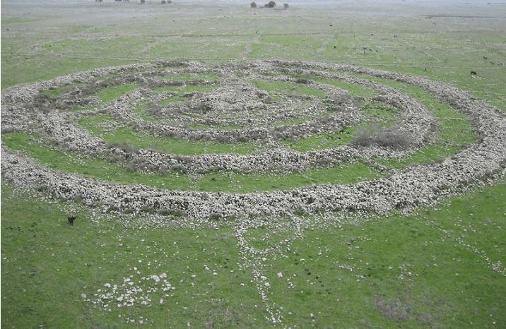 Rujm el Hiri in the Golan Heights