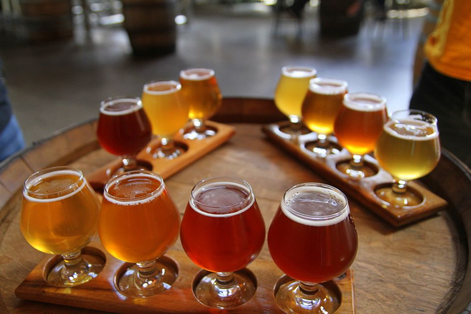 Beer Samples. Photo via flickr by Danielle Griscti