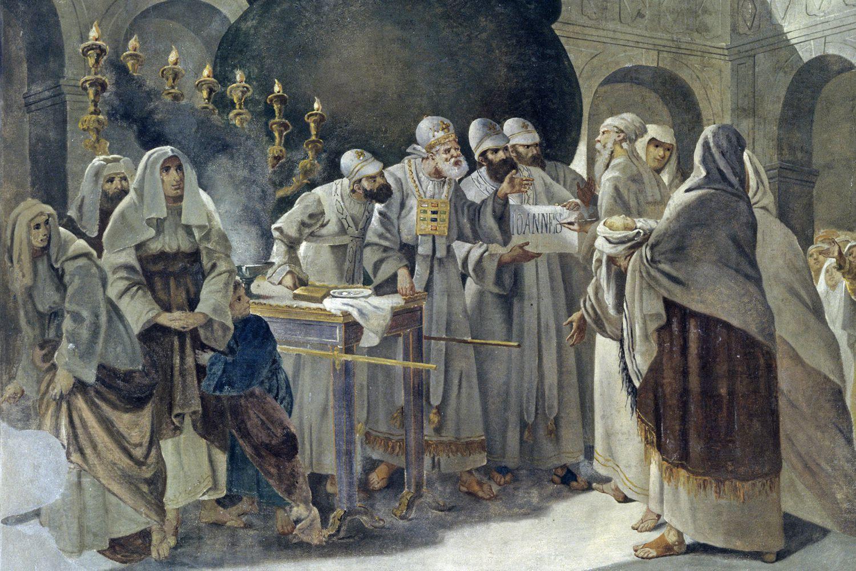 who was john the baptist u0026 39 s father  zechariah