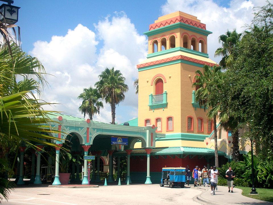 Disney's Caribbean Beach Resort at the Walt Disney World Resort near Orlando, Florida, United States