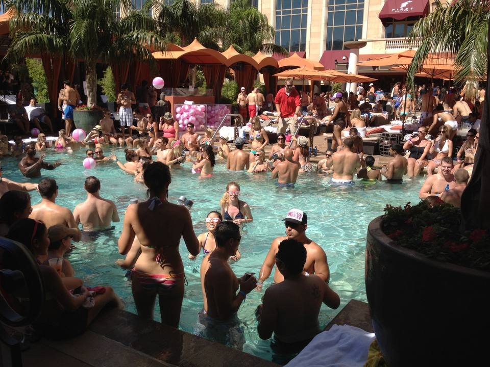 Pool party at Tao Beach dayclub