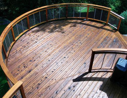 Pool deck materials pros and cons for Cedar decks pros and cons