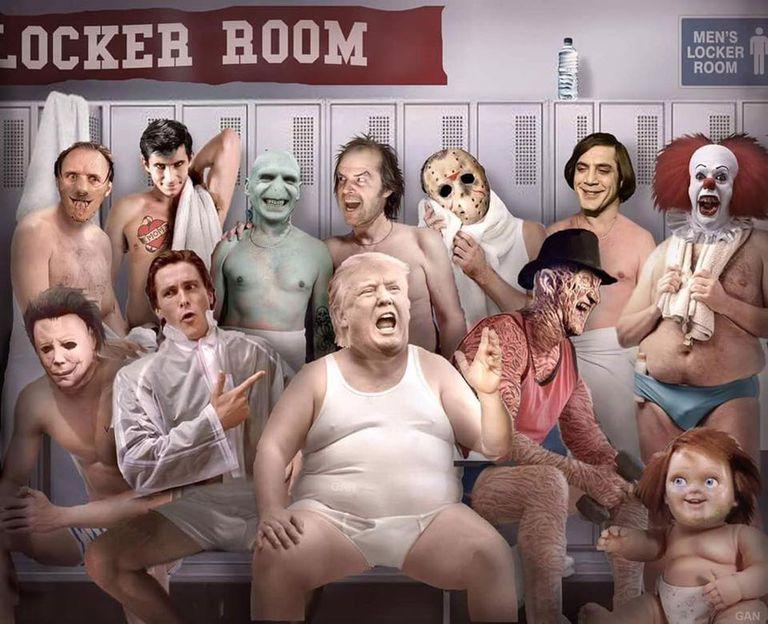 Trump Locker Room Quote