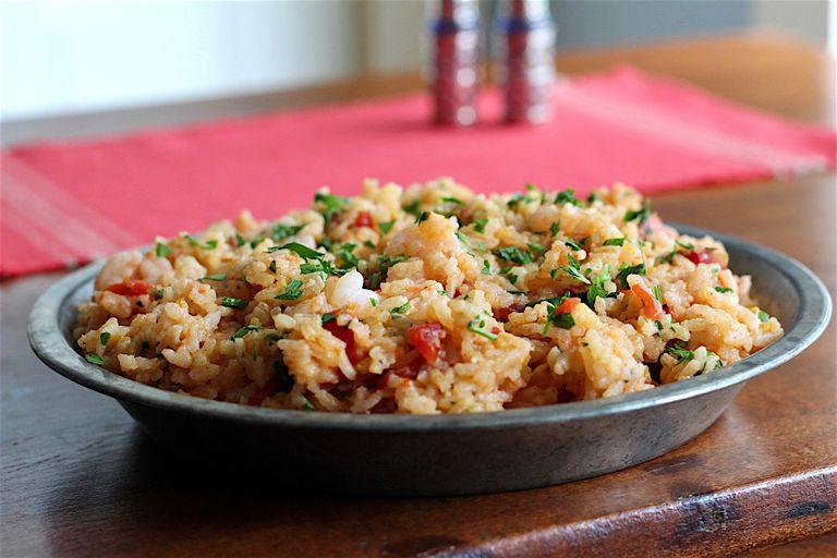 shrimp paella