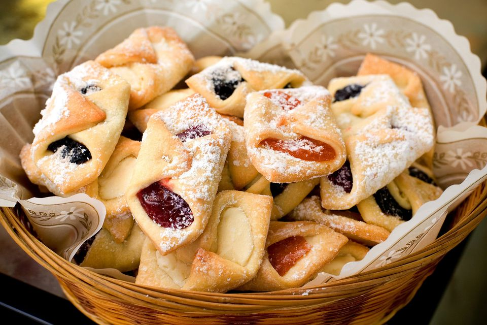 Polish Cream Cheese Cookies (Kolaczki) Recipe