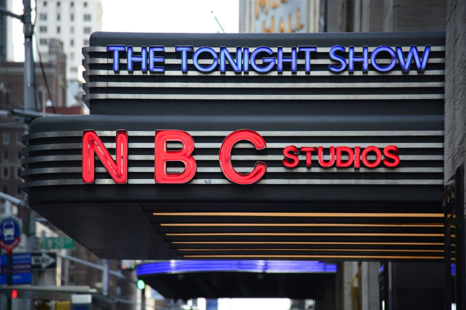 NBC Studios Marquee